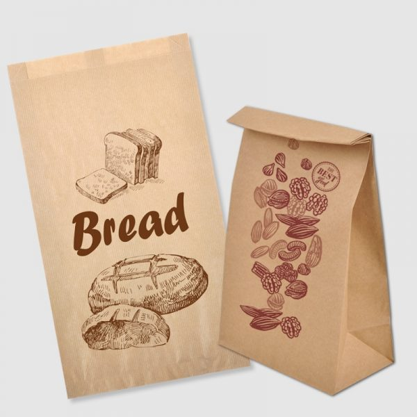 Paper Bags without Handles